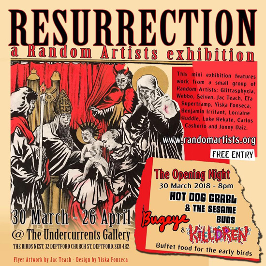 RA Resurrection – mini expo at The Birds Nest