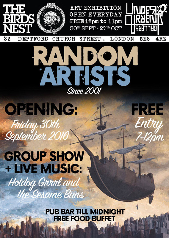 Random Artists at Undercurrents gallery October 2016