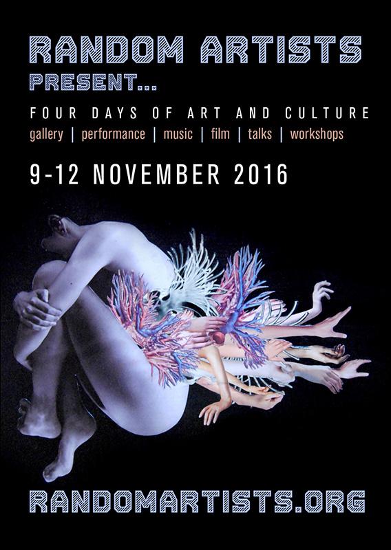 Random Artists present… flyer front