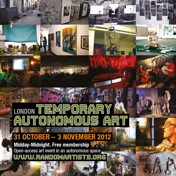 TAA London 2012 flyer front